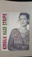 Rowan Kidsilk Haze Stripe Collection Pattern Book - 6 Designs to Knit