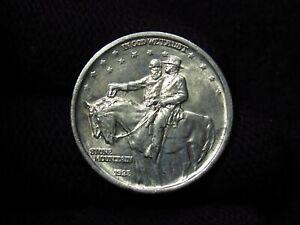 1925 Stone Mountain Commemorative Half Dollar NICE BU