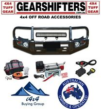 TOYOTA 150 SERIES PRADO 2013 ON CLASSIC DELUXE BULL BAR COMBO 4X4 FOG LIGHTS 4X4