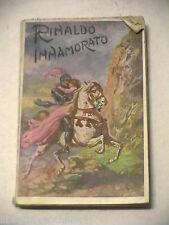 RINALDO INNAMORATO anonimo Bietti Collezione di romanzi storici popolari 1910 di