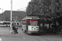 PHOTO  1997 BELGIUM GENT TRAM ST PIETERS TRAM NO 06 ON ROUTE NO 10