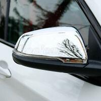 Für BMW X2 F39 Glänzendes Silber Spiegelkappen Außenspiegel Rahmen Zierleisten