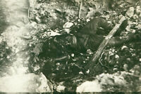 WWII 1940's USAAF Biak Air Field Photo KIA Japanese soldier