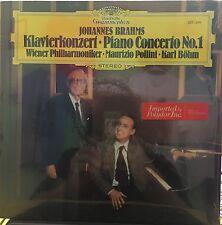 BRAHMS POLLINI BOHM Klavierkonzert Piano Concerto No 1 SEALED LP Deutsche Gram.