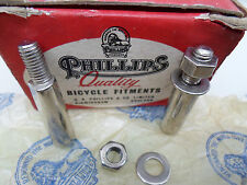 Vintage NOS Raleigh Phillips Bicycle cotter pins made in England a pair