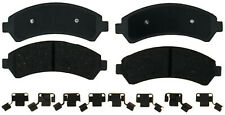 Disc Brake Pad Set-Ceramic Disc Brake Pad Front ACDelco Advantage 14D726CH
