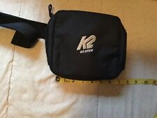 k2 skates black fanny pack