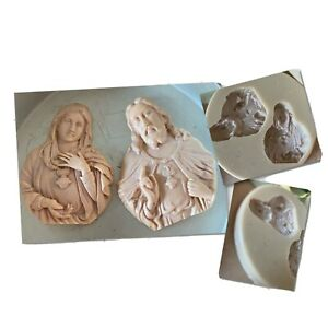 Flexible PVC Mould for making these Lovely detailed Religious Figures