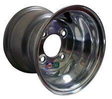 8 x 7 Douglas Polished Aluminum Wheel (4 on 4) Go Kart Rim Cart Parts New