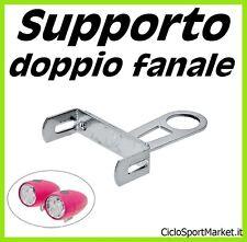Supporto / Attacco per doppio fanale - Permette il montaggio 2 fanali ANTERIORI