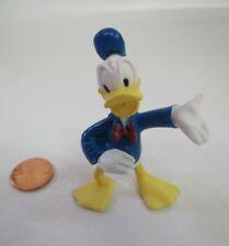 """Vintage Walt Disney DONALD DUCK 2.5"""" Figure PVC Blue Sailor Suit Cake Topper"""
