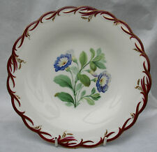 Antique Morning Glory Plate no.8860 Incised Reg mark & trefoil Swansea Cambrian?