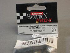 CARRERA 1/32 SLOT CAR FRONT REAR AXLE MERCEDES MP race car slotcar CAR 90101