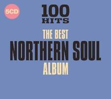 100 HITS THE BEST NORTHERN SOUL ALBUM NEW & SEALED 5CD set (DEMON) R&B 60s 70s