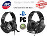 Turtle Beach Recon Gaming Headset Black TBS-3200-02 Playstation Xbox PC Free P&P