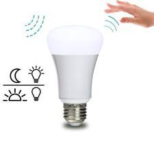 LED Light Bulb Auto Radar Motion Sensor & Dusk to Dawn E26/E27 US