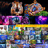 Full Drill Tiger 5D Diamond DIY Painting Craft Kit Home Wall Decor Gifts Hot