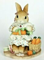 """My Blushing Bunnies """"Share Your Blessings With All"""" Vintage 1998 #M6/992 Retired"""