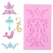 1pc Silicone Soap Mold Pastry Tools Retro Fondant Cake Chocolate Mold Cooking