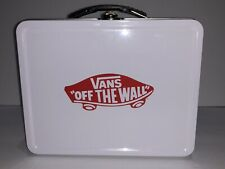 VANS Off The Wall White Black Checkered Lunch Box NEW!