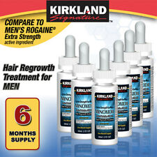 Kirkland Minoxidil 5%25 Hair Regrowth Solution Extra Strength Men 6 Month Supply