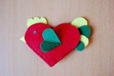 Hand made Felt Fabric Brooch Pin Chicken Handmade