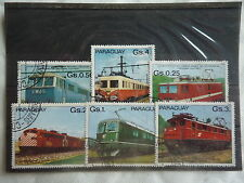PARAGUAY - Trains, locomotive - 1980 - T28
