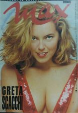 MAX DICEMBRE 1990 GRETA SCACCHI