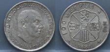 Spanje - Spain 100 pesetas 1966 (1968) - silver