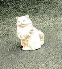"Avon Porcelain Cat Figurines Persian 1984 Approximately 3"" X 2.5"""