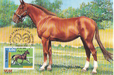 L2-maximum card-france-nature of France-horses - 1998.
