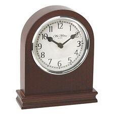 Widdop Wooden Modern Desk, Mantel & Carriage Clocks