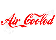 Air Cooled sticker, VW Volkswagen Beetle Camper Split Screen Bay T2