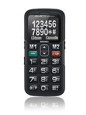 CELLULARE TELEFONINO  BRONDI AMICO SEMPLICE + PLUS  NERO NUOVO GARANZIA ITALIA