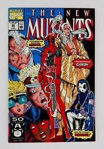 New Mutants #98 First Deadpool Appearance 1st App High Grade Grail No Reserve!!!