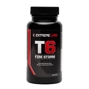 Extreme Labs T6 Storm - Ephedrine Free Fat Burner  90 Capsules