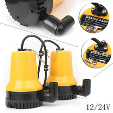 12V Plastic Submersible Water Pump 1620Gph 6000L/H Pond/Pool Dirty Clear Tool