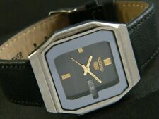 OLD VINTAGE SEIKO 5 AUTOMATIC JAPAN MEN'S DAY/DATE WATCH 365c-a180870-9