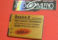 BATTERIA 2450Mah per HTC DESIRE Z A7272 BA-S450 7 MOZART MAGGIORATA POTENZIATA