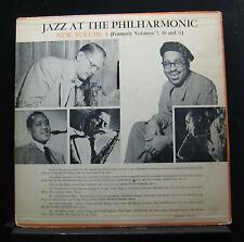 Norman Granz - Jazz At The Philharmonic New Volume 5 LP VG+ MG Vol. 5 1st Mono