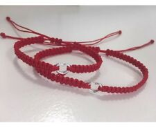 Mom And Baby Kabbalah Red Cord Lucky Bracelets Silver 925 Protection Evil Eye
