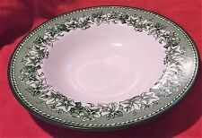 Wedgwood William Sonoma ~ Kent Green ~ Rimmed Soup Bowl ~ England