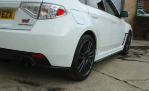 2011-2014 WRX/STI Hatch Side Skirt Extensions And Rear Pods