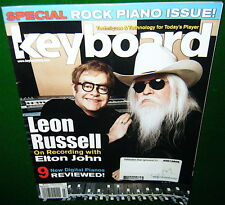Leon Russell w-Elton John, Yamaha CP1 CP5 CP50 Review in 2011 Keyboard Magazine