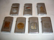 ~7~ Zippo Lighters Lighthouse - Superior Clay - RECO - UNION 798 PIPE Liners etc