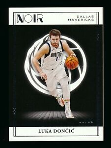 2020-21 Panini Noir Base #60 Luka Doncic - Dallas Mavericks 08/99