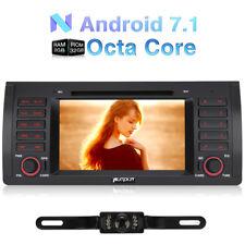 "Kamera+7"" Autoradio Android 7.1 GPS Navi USB DAB DVD CD OBD2 3G WIFI BT fur E39"