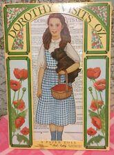 A Vintage Peck Aubry Dorothy Visits Oz Paper Doll Playbook 1997