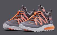 Nike Air Max 270 Bowfin Thunder Grey Total Orange AJ7200-006 Men's Shoes NEW