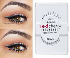 NIB~ Red Cherry #27 False Eyelashes Fake BOTTOM UNDER AUTHENTIC KINSLEY